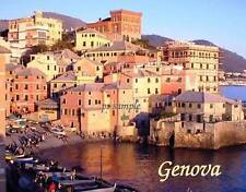 Italy - GENOVA #2 - Travel Souvenir Flexible Fridge Magnet
