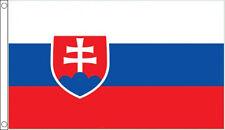 SLOVAKIA FLAG 5' x 3' Slovakian Slovak Flags Europe