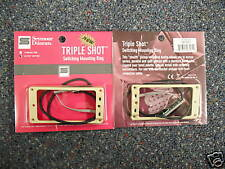 Seymour Duncan TRIPLE SHOT MOUNTING RING SET ARCHED CREME TS-1