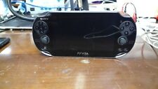 PP-(**Broken Black Screen**) Sony PS Vita 1000 OLED WiFi+3G BLACK