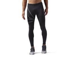 Reebok Men's One Series Running Tight Training Black Leggings CF8797
