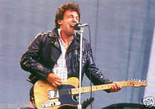 BRUCE SPRINGSTEEN PHOTO 1985 UNRELEASED NEWCASTLE UK UNIQUE IMAGE HUGE 12 INCH
