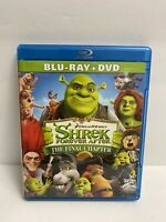 Shrek Forever After The Final Chapter (Blu-ray/DVD, 2010, 2-Disc Set)