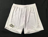 Georgia Tech Yellow Jackets adidas Shorts Men's White Climalite NEW L