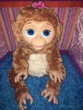 "EUC-HTF-18"" Furreal cuddles my giggly monkey interactive toy hasbro chimp"