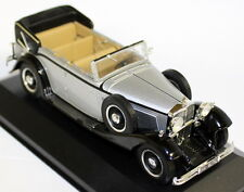 Altaya 1/43 Scale - Maybach V12 DS8 1930 Silver / Black Diecast Model Car