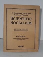 Scientific Socialism 1921 booklet by American Constitutional League of Wisconsin