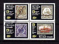 Marshall Inseln Michelnummer 15 - 18  gestempelt