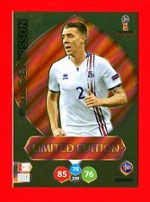 WC RUSSIA 2018 -Panini Adrenalyn-Card Limited Edition Brasil-SAEVARSSON- ICELAND