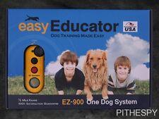 E COLLAR TECHNOLOGIES EASY EDUCATOR EZ-900 REMOTE OFF LEASH DOG TRAINING 1/2 MI