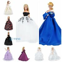 E-TING Doll Clothes Wedding Dress Party Gown Accessories For Barbie Dolls A