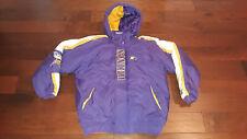 Vtg Pro Line Minnesota Vikings NFL Starter Hooded Parka/Jacket Men's M - Nice!!!