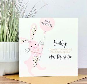 Personalised Handmade New Grandparents Card, Granddaughter