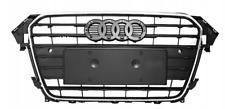 Audi A4 B8 LF (2011-2015) GRIGLIA RADIATORE MASCHERA ANTERIORE SILVER NERO !