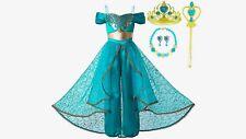 Jasmine Green Princess Costume Dress Up Set