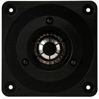 "NEW 1"" Tweeter Titanium Speaker.Home Audio.Replacement.3.75"" square.8 ohm drive"