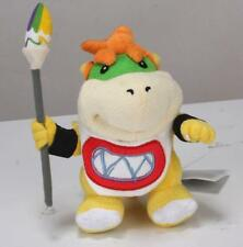 """New Super Mario Bros. 7"""" Koopa Jr. Bowser With Pen Figure Plush Toy Doll"""