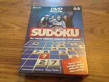SUDOKO Play sul televisore interattivo DVD GAME scorepad & player Guida NUOVO SIGILLATO