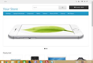 Beautiful Online Store Website Free Hosting + Free installation