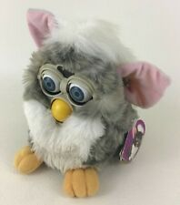 Furby Tiger Electronics 70-800 Interactive Plush Vintage 1998 Gray White TESTED