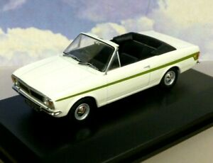 OXFORD 1/43 FORD LOTUS CORTINA MKII MK2 CRAYFORD OPEN ERMINE WITE/GREEN 43CCC002