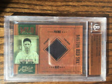 LEFTY GROVE g/u HAT card #19/19 2004 Playoff Prime Cuts Boston Red Sox beckett