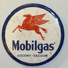 Fridge / Tool Box Retro Magnet Mobilgas Button