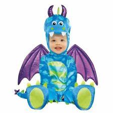 Little Dragon Childs Fancy Dress Animal Monster Toddler Costume 6-12 months