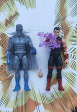 Marvel Legends Wonderman And Grey Gargoyle Like New Avengers Iron Man
