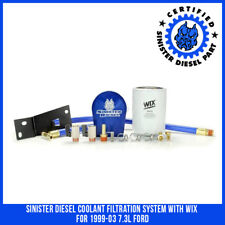 Sinister Diesel Coolant Filtration System with WIX  for 1999-03 7.3L Ford
