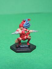 Battle Dice #28 ELEKTRA mini figurine figure Marvel heroes Playmates 2006