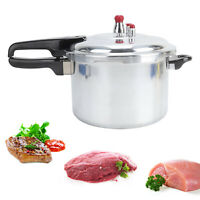 5 LItre Pressure Cooker Aluminium 5L Kitchen Catering Home Cookware Duel Handle