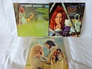 Dottie West-3 x Classic Vinyl LP`s  BARGAIN