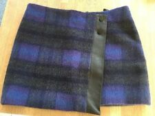 Karen Millen Wool Blend Check Short/Mini Skirts for Women