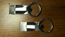 2-Pack KEY BAK Secure-A-Key (Model #600) key holder with belt clip and key ring