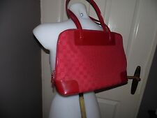 Authentieke Gucci tas rood in mongram.