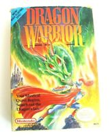 Dragon Warrior Complete CIB NES Nintendo w/ Maps & Inserts - Tested