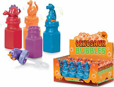 6 x DINOSAUR BUBBLES TOY BOYS GIFT LOOT PINATA BUBBLE BIRTHDAY PARTY BAG FILLERS