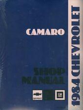 1984 CAMARO CAR SHOP MANUAL