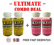 RASPBERRY KETONES FAT BURNER WEIGHT LOSS SLIMMING DIET PILLS BLACK FRIDAY BD.99