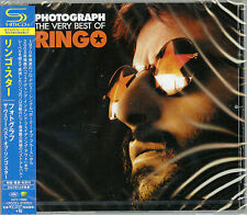 RINGO STARR-PHOTOGRAPH - THE VERY BEST OF RINGO-JAPAN SHM-CD E35