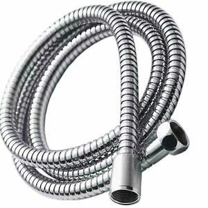 2m &1.5m Stainless Steel Chrome Flexible Standard Shower Head Bathroom Hose Pipe