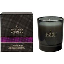 Shearer Candles Ae Fond Kiss Scented Candle in Tartan Box - White Wax, 40 Hours