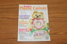 Annie's Plastic Canvas Magazine May 2007 Barnyard Bear Clock Basket Butterfly