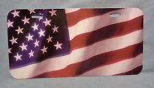 American Flag Novelty License Plate