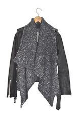 *STUNNING* AllSaints Ladies Leather TEXTURED WRAP BIKER Jacket UK2 US00 EU30