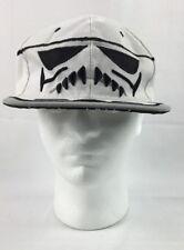 Storm Trooper Snapback Hat White Black Star Wars RARE