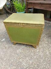 Lovely original Kraft vintage green ottoman blanket box storage