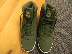 green fila trainers