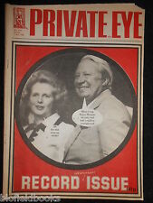 PRIVATE EYE - Vintage Satirical Political Humour Magazine - 5th December 1980